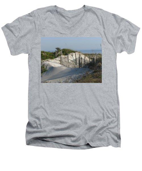 Shadow Fence Men's V-Neck T-Shirt