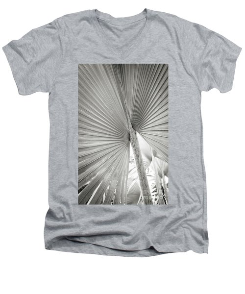 Men's V-Neck T-Shirt featuring the photograph Shapes Of Hawaii 8 by Ellen Cotton