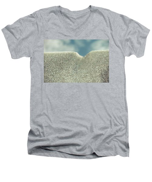 Shattered Summer Day Men's V-Neck T-Shirt
