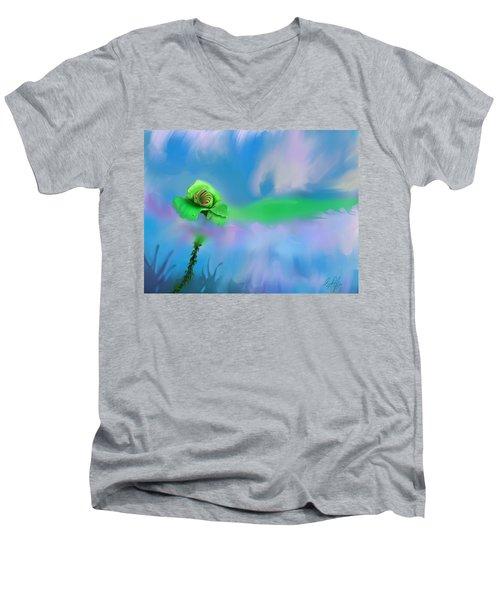Shawna's Rose Men's V-Neck T-Shirt