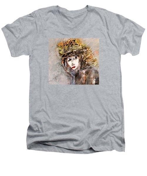 SHE Men's V-Neck T-Shirt