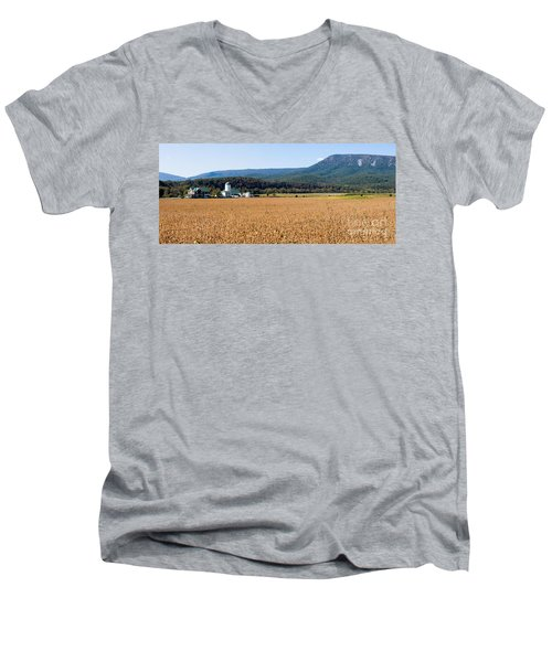 Shenandoah Valley Panorama Men's V-Neck T-Shirt