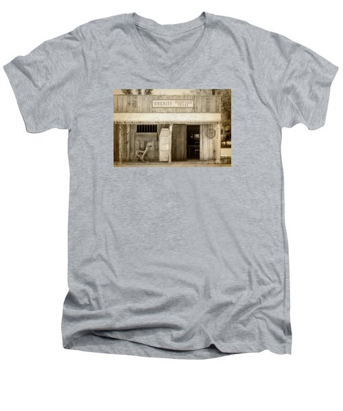 Sheriff Office Men's V-Neck T-Shirt