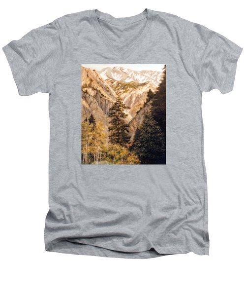 Shirley Temple Mine Men's V-Neck T-Shirt