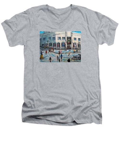 Shopping At Grover Cronin Men's V-Neck T-Shirt