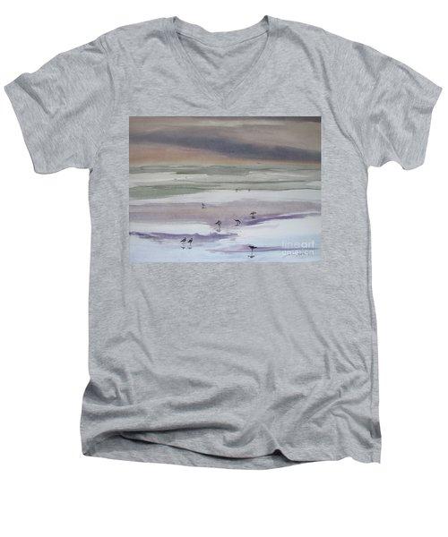 Shoreline Birds II Men's V-Neck T-Shirt