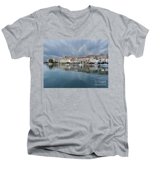 Sibenik Waterfront - Croatia Men's V-Neck T-Shirt
