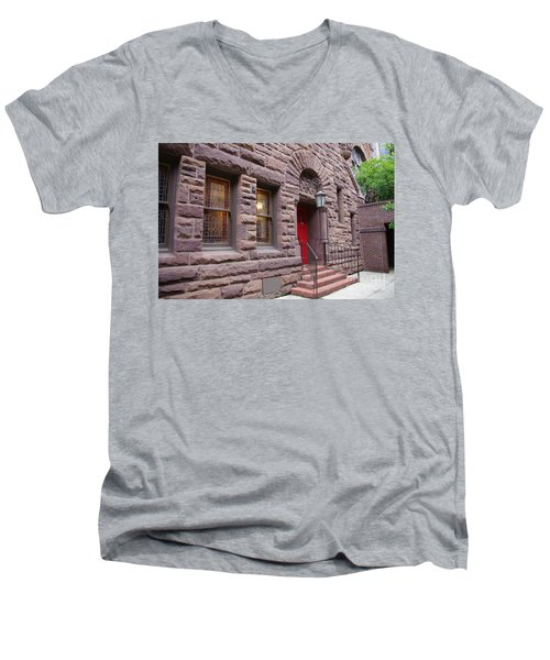 Side Door Men's V-Neck T-Shirt