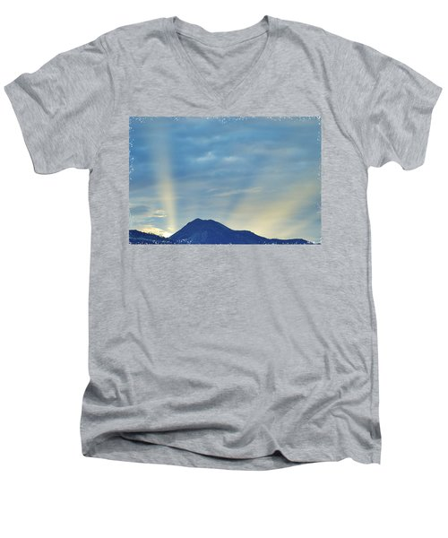 Sierra Sunset Men's V-Neck T-Shirt