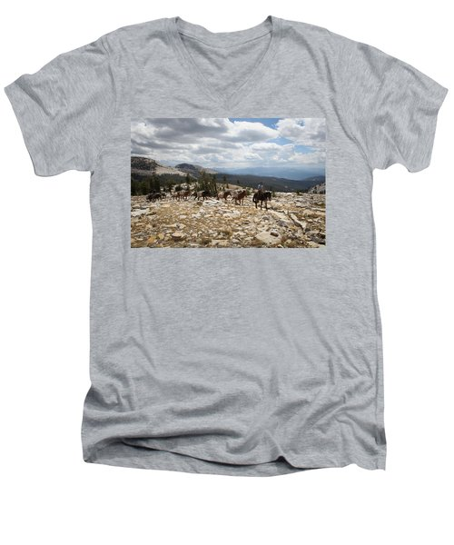 Sierra Trail Men's V-Neck T-Shirt