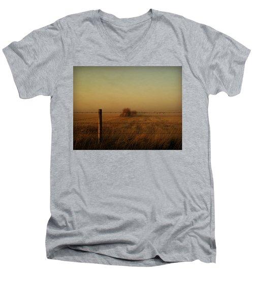 Silence Of Dusk Men's V-Neck T-Shirt