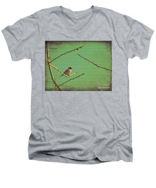 Silent Song Men's V-Neck T-Shirt
