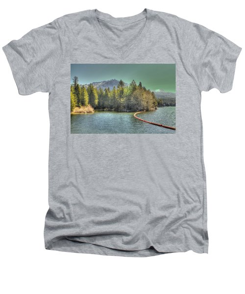Silver Lake 3 Men's V-Neck T-Shirt