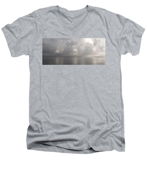 Silvern Sea Men's V-Neck T-Shirt