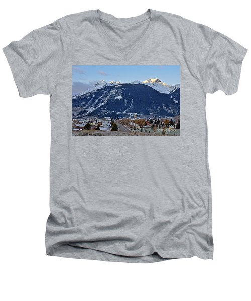 Silverton's Mountain Majesty Men's V-Neck T-Shirt