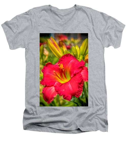 Simple Lily Men's V-Neck T-Shirt