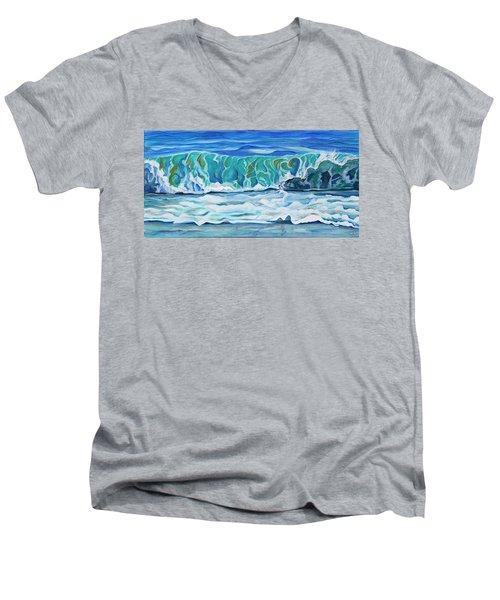 Simple Rhythms Men's V-Neck T-Shirt