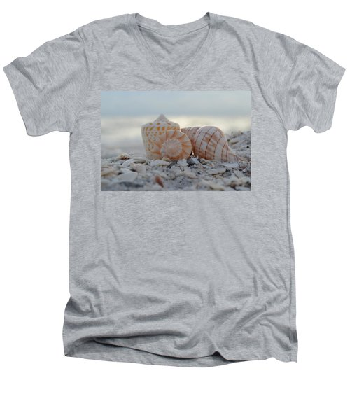 Men's V-Neck T-Shirt featuring the photograph Simplicity And Solitude by Melanie Moraga