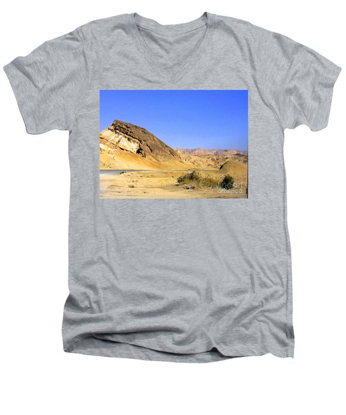 Sinai Desert  Men's V-Neck T-Shirt