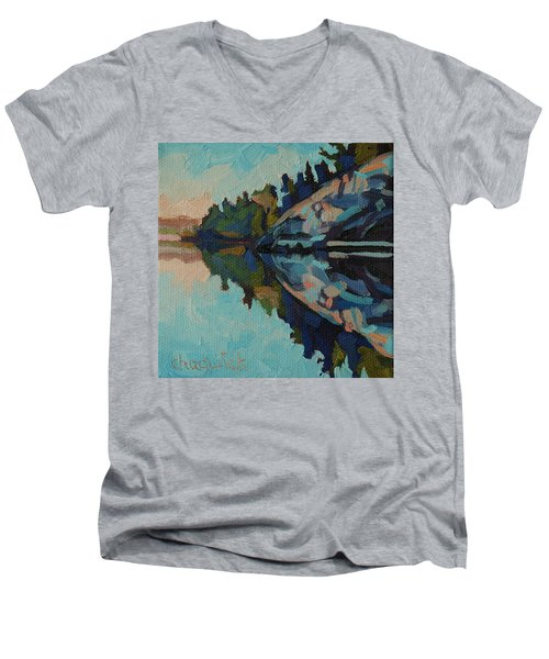Singleton Cliffs Men's V-Neck T-Shirt
