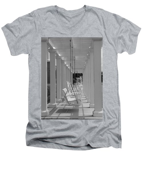 Sit A Spell Men's V-Neck T-Shirt