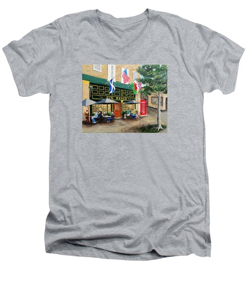 Six Pence Pub Men's V-Neck T-Shirt