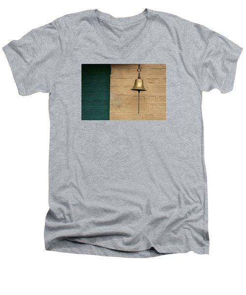 Skc 0005 A Doorbell Men's V-Neck T-Shirt by Sunil Kapadia