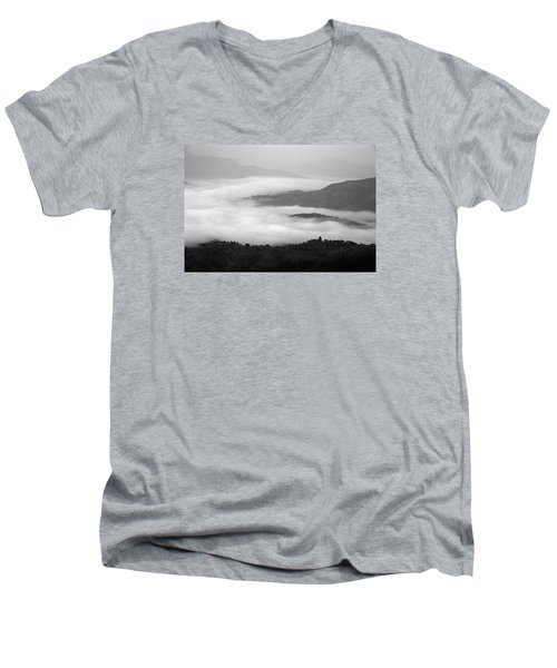 Men's V-Neck T-Shirt featuring the photograph Skc 0064 Heaven On Earth by Sunil Kapadia