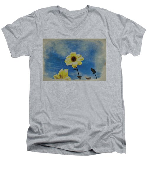 Sky Full Of Sunshine Men's V-Neck T-Shirt