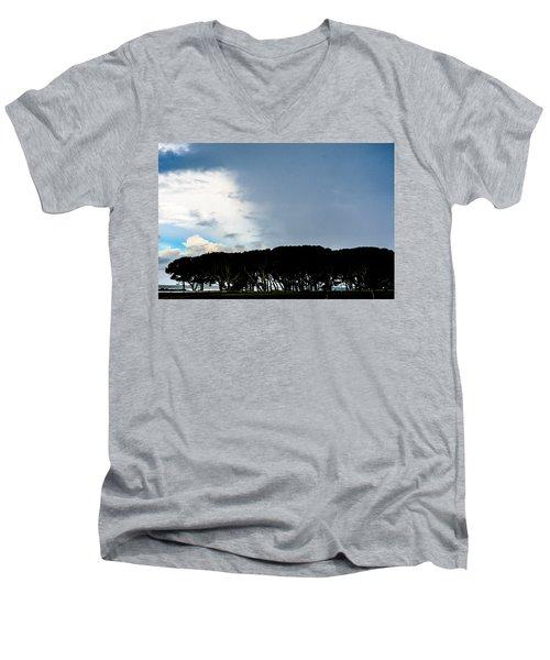 Sky Half Full Men's V-Neck T-Shirt