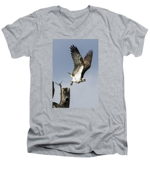 Sky Hunter Men's V-Neck T-Shirt