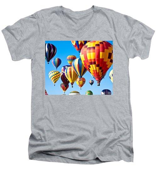 Sky Of Color Men's V-Neck T-Shirt