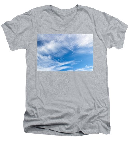 Sky Painting II Men's V-Neck T-Shirt