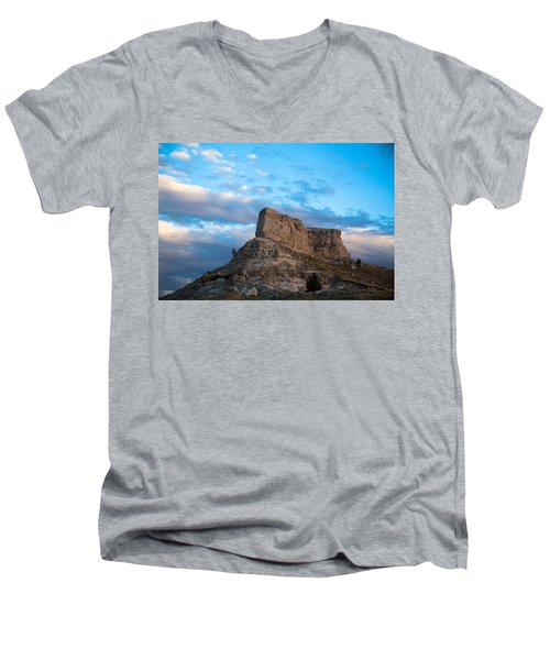 Skyline Men's V-Neck T-Shirt