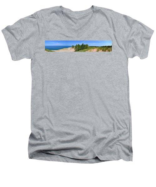 Sleeping Bear Dunes National Lakeshore Men's V-Neck T-Shirt