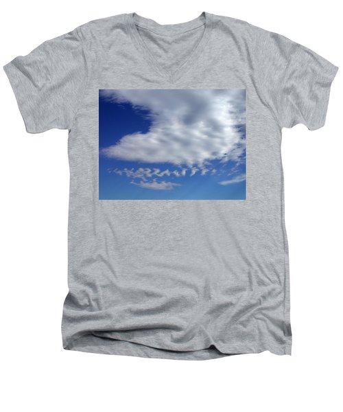 Sleepy Clouds Men's V-Neck T-Shirt