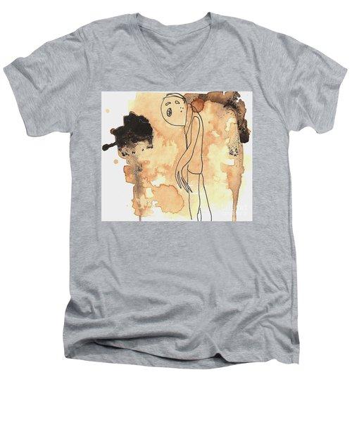Slouch Men's V-Neck T-Shirt