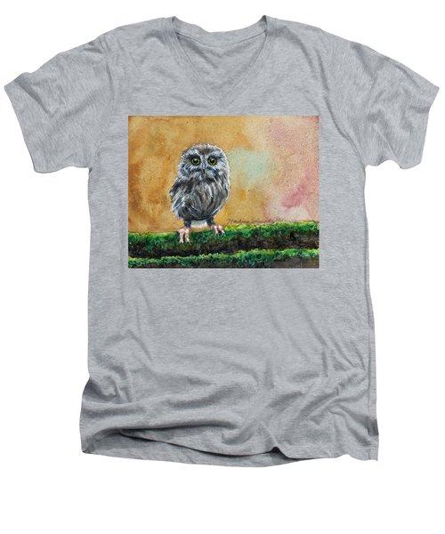 Small Wonder Men's V-Neck T-Shirt