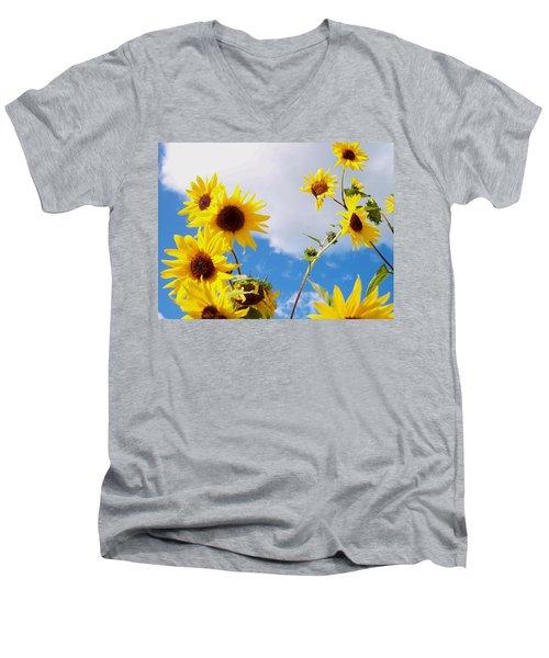 Smile Down On Me Men's V-Neck T-Shirt