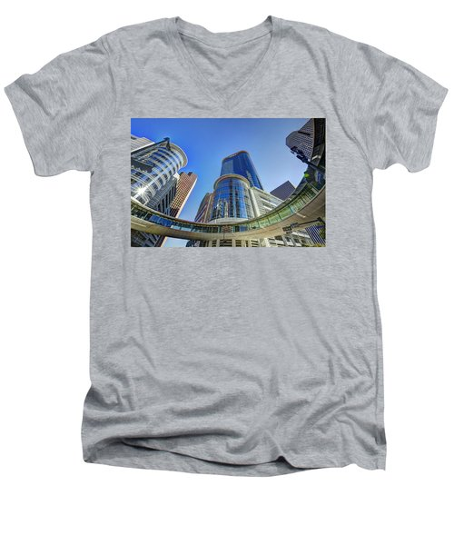 Smith Street Circle Men's V-Neck T-Shirt