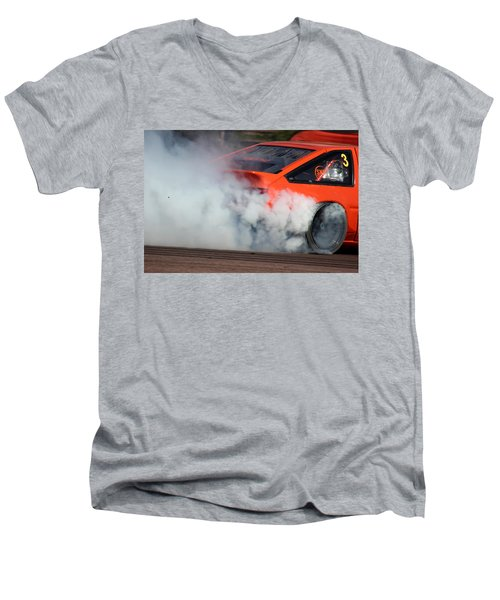 Smoking Ae86 Men's V-Neck T-Shirt
