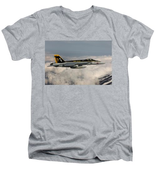Snaggle Tooth Men's V-Neck T-Shirt