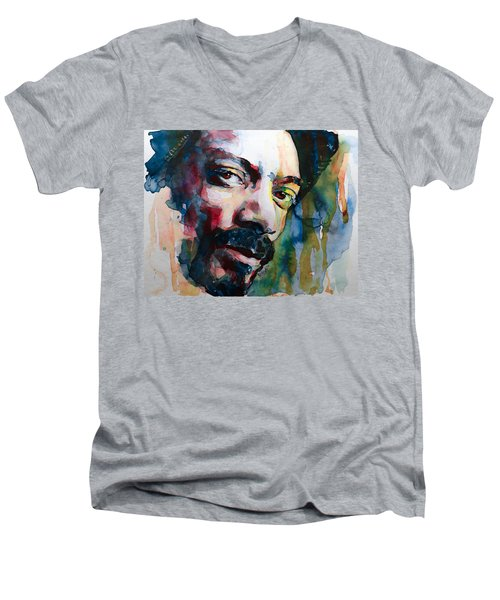 Snoop Dogg Men's V-Neck T-Shirt