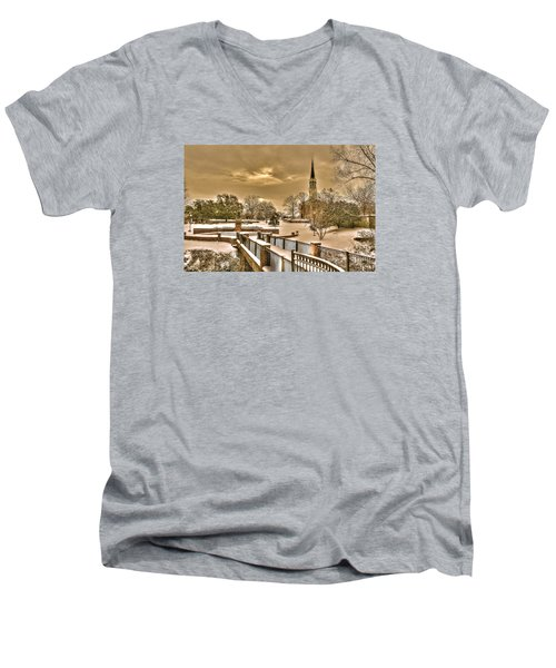 Fayetteville Nc 8 Men's V-Neck T-Shirt