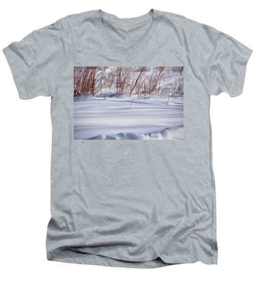 Snow Men's V-Neck T-Shirt