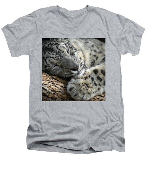 Snuggles Men's V-Neck T-Shirt
