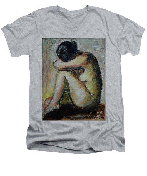 So Tired Men's V-Neck T-Shirt