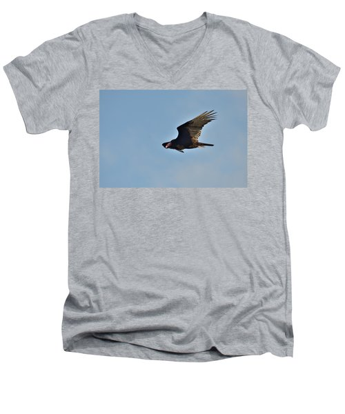 Men's V-Neck T-Shirt featuring the photograph Soaring by David Porteus