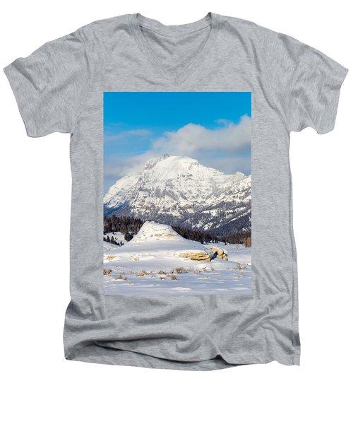 Soda Butte Men's V-Neck T-Shirt