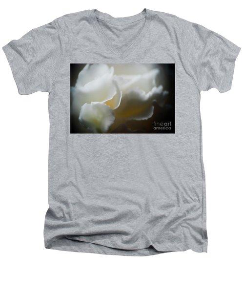 Soft And Delicate Men's V-Neck T-Shirt